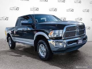 Used 2012 RAM 2500 Laramie 4x4/Navi/Power Seat/Diesel Laramie 4x4/Nav for sale in St Thomas, ON