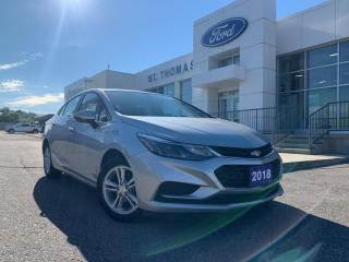 Used 2018 Chevrolet Cruze LT Auto/Bluetooth/Alloy Wheels LT Auto/Bluetooth/A for sale in St Thomas, ON