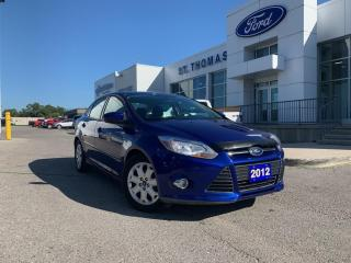 Used 2012 Ford Focus SE Auto/Power Windows and Doors/A/C for sale in St Thomas, ON