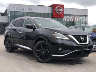 New 2020 Nissan Murano Limited Edition *NO CHARGE WINTER READY PKG* for sale in Midland, ON