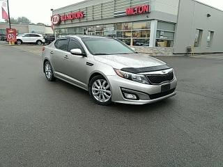 Used 2015 Kia Optima for sale in Milton, ON