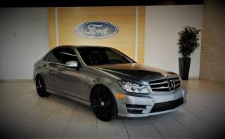 Used 2014 Mercedes-Benz C 300 C-CLASS - CUIR/TOIT/GPS/CAMERA - AMG - W for sale in Drummondville, QC