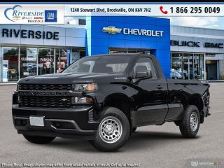 New 2020 Chevrolet Silverado 1500 Work Truck for sale in Brockville, ON