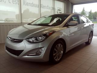 Used 2014 Hyundai Elantra GLS MANUEL SIEGE CHAUFFANT - A/C - TOIT OUVRANT for sale in Ste-Julie, QC