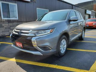 Used 2016 Mitsubishi Outlander ES-AWD-BLUETOOTH-HEATED SEATS-ALLOYS for sale in Tilbury, ON