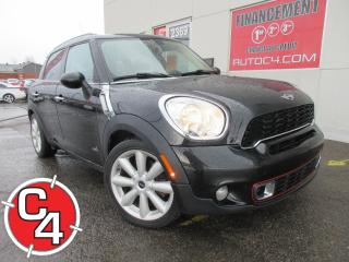 Used 2012 MINI Cooper Countryman S-AWD CUIR TOIT MAGS AWD for sale in St-Jérôme, QC