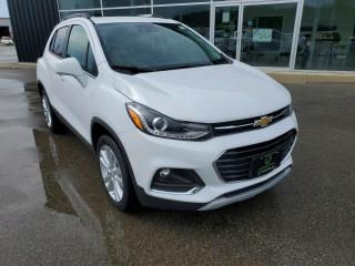 Used 2020 Chevrolet Trax Premier Apple CarPlay, Remote Start, Sunroof, Leather! for sale in Ingersoll, ON