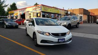 Used 2014 Honda Civic Sedan 4dr CVT EX for sale in Scarborough, ON