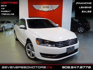 Used 2014 Volkswagen Passat TRENDLINE | CLEAN CARFAX | CERTIFIED | FINANCE @ 4.65% for sale in Oakville, ON