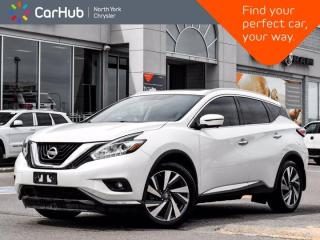 Used 2017 Nissan Murano Platinum AWD Bose Sound Panoramic Sunroof Navigation Heated and Ventilated Seats for sale in Thornhill, ON