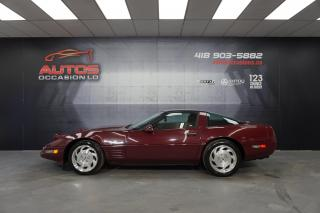 Used 1993 Chevrolet Corvette LT1 40th ANNIVERSAIRE TARGA TOP CUIR MANUEL MAGS for sale in Lévis, QC
