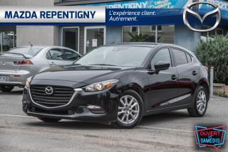 Used 2018 Mazda MAZDA3 Sport GS MAN VOLANT CHAUFFANT 51.70$/SEM for sale in Repentigny, QC