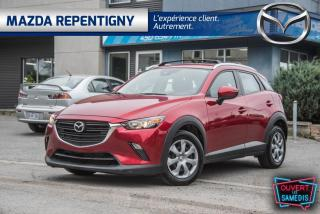 Used 2019 Mazda CX-3 GX FWD BLUETOOTH CRUISE 60.38$/SEM for sale in Repentigny, QC