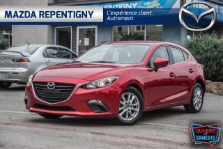 Used 2016 Mazda MAZDA3 MAZDA3 SPORT AUTO TOIT OUVRANT 58.38$/SE for sale in Repentigny, QC