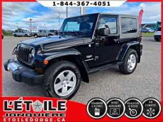 Used 2010 Jeep Wrangler 4x4 2 portes Sahara for sale in Jonquière, QC