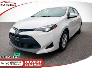 Used 2017 Toyota Corolla *CE*CRUISE*BLUETOOTH*CLIMATISEUR** for sale in Québec, QC