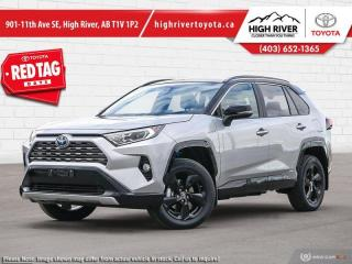 New 2020 Toyota RAV4 Hybrid XSE  - Sunroof -  Power Tailgate for sale in High River, AB