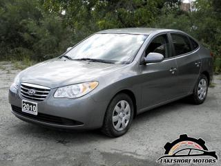 Used 2010 Hyundai Elantra || CERTIFIED || MANUAL || LOW KMS || for sale in Waterloo, ON