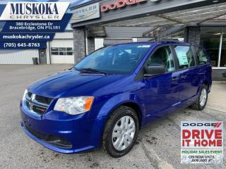 New 2020 Dodge Grand Caravan SE CVP  - Dual Zone AC for sale in Bracebridge, ON