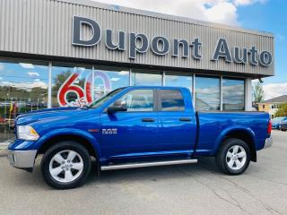 Used 2017 RAM 1500 Cabine quad 4RM, 140,5 po Outdoorsman for sale in Alma, QC
