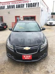 Used 2012 Chevrolet Cruze LT Turbo+ w/1SB for sale in Winnipeg, MB