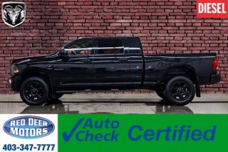 Used 2017 RAM 3500 4x4 Mega Cab SLT Diesel BCam for sale in Red Deer, AB