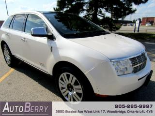 Used 2009 Lincoln MKX AWD - 3.5L for sale in Woodbridge, ON