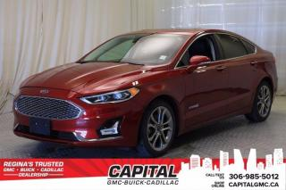 Used 2019 Ford Fusion Hybrid Titanium*LEATHER*SUNROOF* for sale in Regina, SK