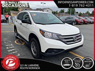 Used 2014 Honda CR-V SE for sale in Rouyn-Noranda, QC
