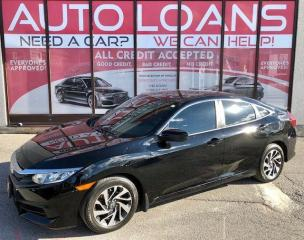 Used 2016 Honda Civic EX-ALL CREDIT ACCEPTED for sale in Toronto, ON
