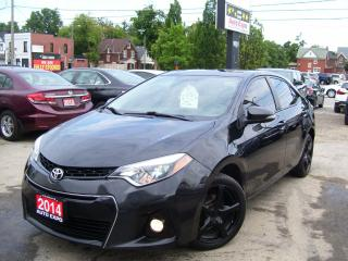 Used 2014 Toyota Corolla S,AUTO,A/C,SUNROOF,LEATHER,BLUETOOTH,CERTIFIED,FOG for sale in Kitchener, ON