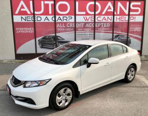 Used 2015 Honda Civic LX-ALL CREDIT ACCEPTED for sale in Toronto, ON