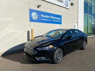 Used 2017 Ford Fusion SE AWD - LEATHER / NAVI / HEATED SEATS for sale in Edmonton, AB