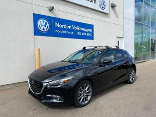 Used 2018 Mazda MAZDA3 Sport GT SPORT - LEATHER / SUNROOF / LOADED for sale in Edmonton, AB