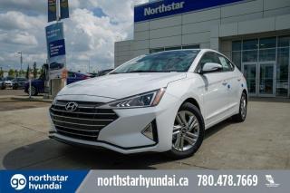 New 2020 Hyundai Elantra PREFERRED-APPLE CAR PLAY/ BACK UP CAM/ HEATED STEERING WHEEL/ BLUETOOTH for sale in Edmonton, AB