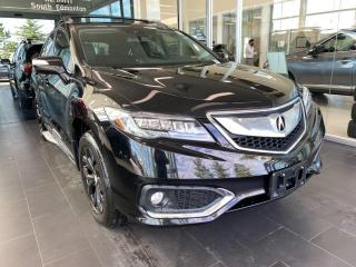 Used 2017 Acura RDX Elite Pkg AWD, SUNROOF, POWER HEATED/VENTED LEATHER SEATS, NAVI for sale in Edmonton, AB
