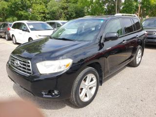 Used 2008 Toyota Highlander LIMITED  for sale in Brampton, ON
