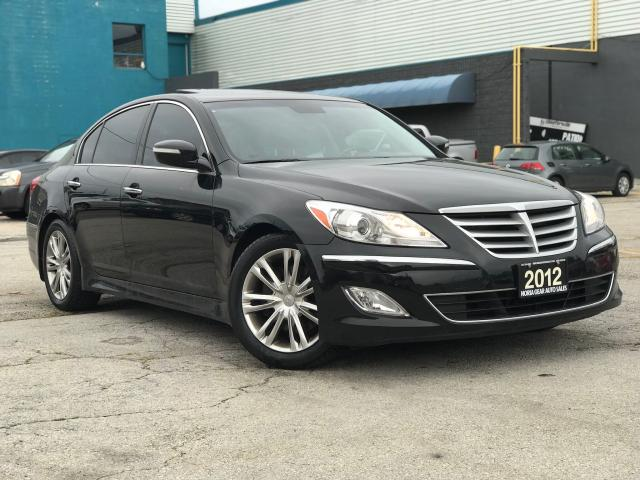 2012 Hyundai Genesis Pkg|Navi|Leather|Sunroof|Accident free
