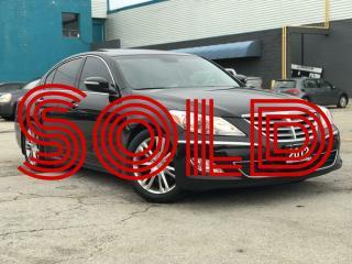 Used 2012 Hyundai Genesis Pkg|Navi|Leather|Sunroof|Accident free for sale in Burlington, ON