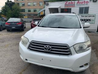 Used 2009 Toyota Highlander Leather Seats Backup camera V6 for sale in Toronto, ON
