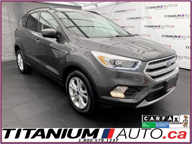 2017 Ford Escape SE+4X4+GPS+Pano Roof+Leather+Camera+Power Gate+XM