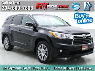 Used 2016 Toyota Highlander XLE for sale in Winnipeg, MB