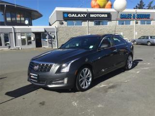 Used 2014 Cadillac ATS PERFORMANCE RWD - NAV  Moonroof for sale in Victoria, BC
