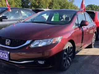Used 2013 Honda Civic Touring for sale in Brockville, ON