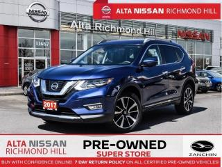 Used 2017 Nissan Rogue SL Plat.   Leather   360 CAM   Pano   Blind Spot for sale in Richmond Hill, ON