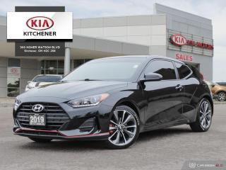 Used 2019 Hyundai Veloster Base AUTO - CARFAX CLEAN! for sale in Kitchener, ON