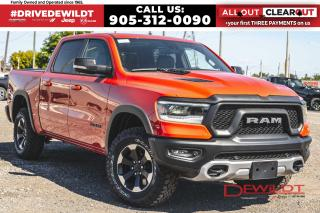 New 2020 RAM 1500 REBEL | LEATHER + SOUND | SPRAY IN LINER | for sale in Hamilton, ON