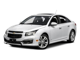 Used 2016 Chevrolet Cruze 4DR SDN LT W-1LT for sale in Mississauga, ON
