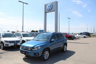 Used 2017 Volkswagen Tiguan 2.0L TSI Wolfsburg Edition 4MOTION for sale in Whitby, ON