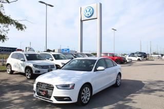 Used 2013 Audi A4 2.0L Komfort quattro for sale in Whitby, ON